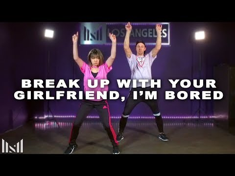 ARIANA GRANDE - Break Up With Your Girlfriend, I'm Bored | Matt Steffanina & Bailey Sok