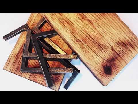 Pallet Shelves With Textured Steel Shelf Brackets