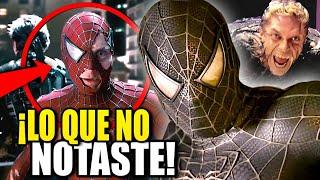 ES INMORTAL! 10 Detalles Ocultos que No Sabias sobre Spiderman 3 | Tobey Maguire