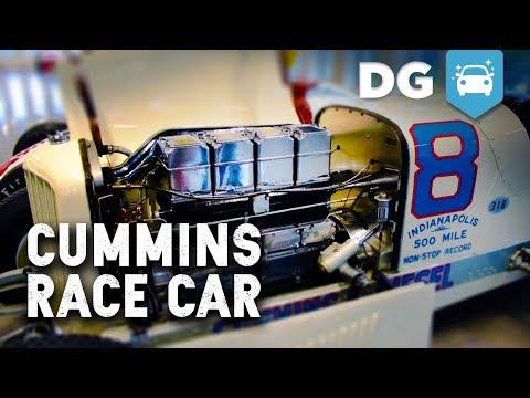 The Legendary No. 8 Cummins Diesel Indycar
