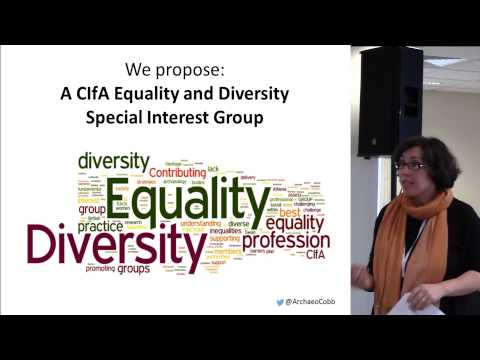 Let's DO something! The potential for a CIfA Equality and Diversity special interest group