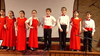 Campanella Children's Choir . The spinning Song.