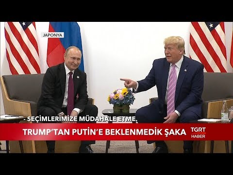 Trump'tan Putin'e Beklenmedik Şaka