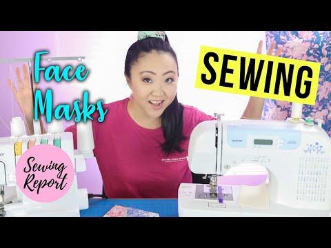 sewing-face-masks-😷-live-craft-room-cam