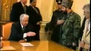 Russian President Forced to Sit Face to Face