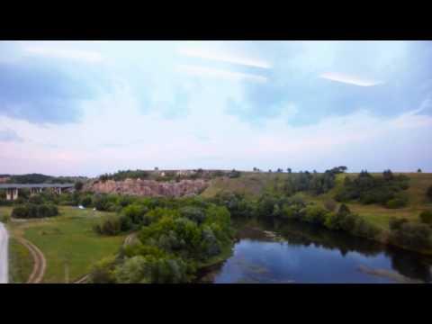 Express Train Railway Journey Kiev to Lviv Ukraine July 2012