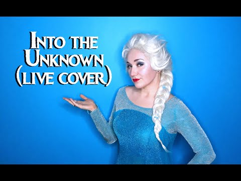 FROZEN 2 - Into The Unknown (live Vocal Cover By Nika Comet Of Chase The Comet)