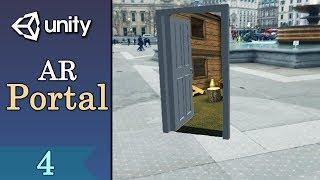 4 Birlik ile AR Portal Öğretici - Portal Maskesi Uygulaması - Bölüm