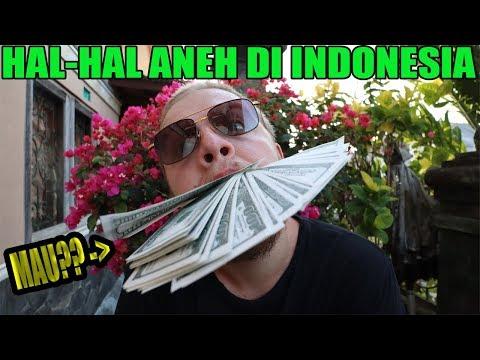 Hal-Hal Aneh Di Indonesia - Di Mata Bule !  | 50.000Usd Give Away!!! | Jro Putu Arnold