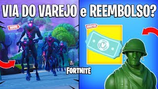 FORTNITE-RETAIL ROUTE, FREE REFUND and MONSTERS! -Patch 10.10