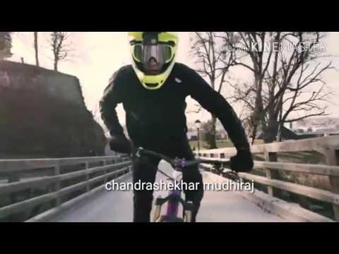 Cycle stunts on road