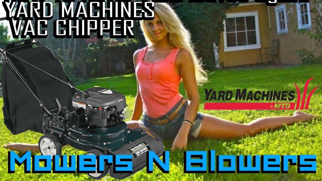 Yard Machines Mtd Briggs Amp Stratton 6 5 Lawn Vacuum Vac