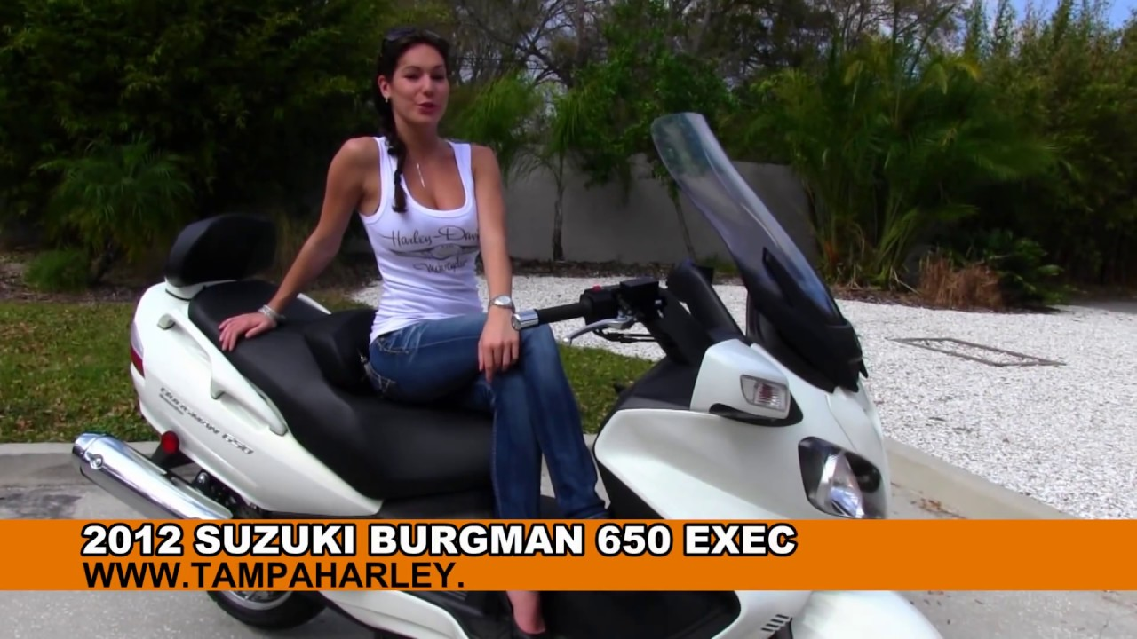 2012 Suzuki Burgman 650 Executive for Sale YouTube