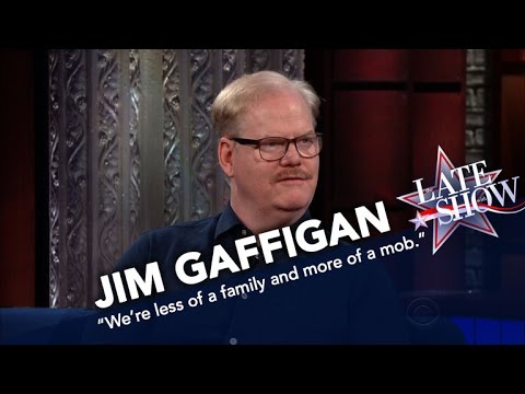 Comedian Jim Gaffigan Has Too Many Children