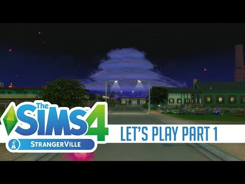UNCOVERING THE MYSTERY // LET'S PLAY THE SIMS 4 STRANGERVILLE #1 |
