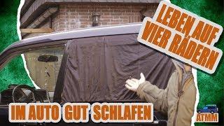 Gut im Auto Schlafen! | Isolation, Verdunkelung, Belüftung | Pajero 4x4 Reisemobil | Leben 4 Rädern