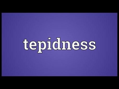 Header of tepidness