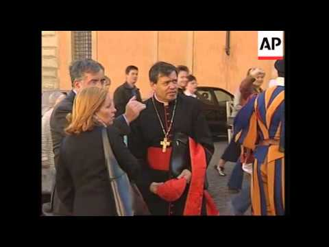 Celebrations for Pope's 25th anniversary