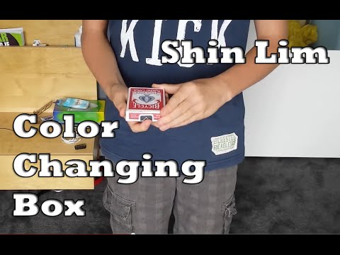 52 Shades of Red: Color Changing Box by Shin Lim