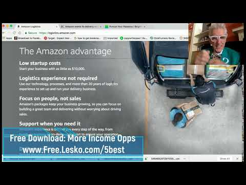 Make $300,00 by Starting Your Own Amazon Package Delivery Business