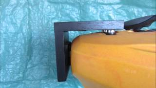 ocean kayak with electric trolling motor