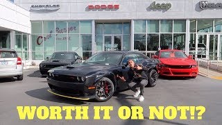 I'M BUYING A 2019 WIDE BODY CHALLENGER SCATPACK!?!