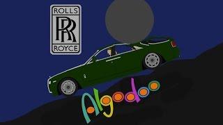 Algodoo Rolls Royce Wagon Crashes