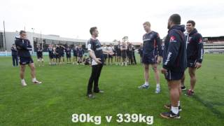 Magician vs Rugby Players