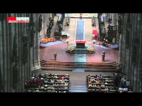 Mittagsgebet im Kölner Dom mit Vorstellung Erzbischof Woelki