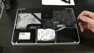 Fix Apple MacBook Pro A1278 Mid 2012 hard drive cable - flashing question mark folder, HDD missing
