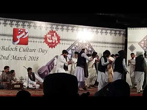 Arif baloch at arts council of karachi....... baloch culture day wid balochi 2chapi