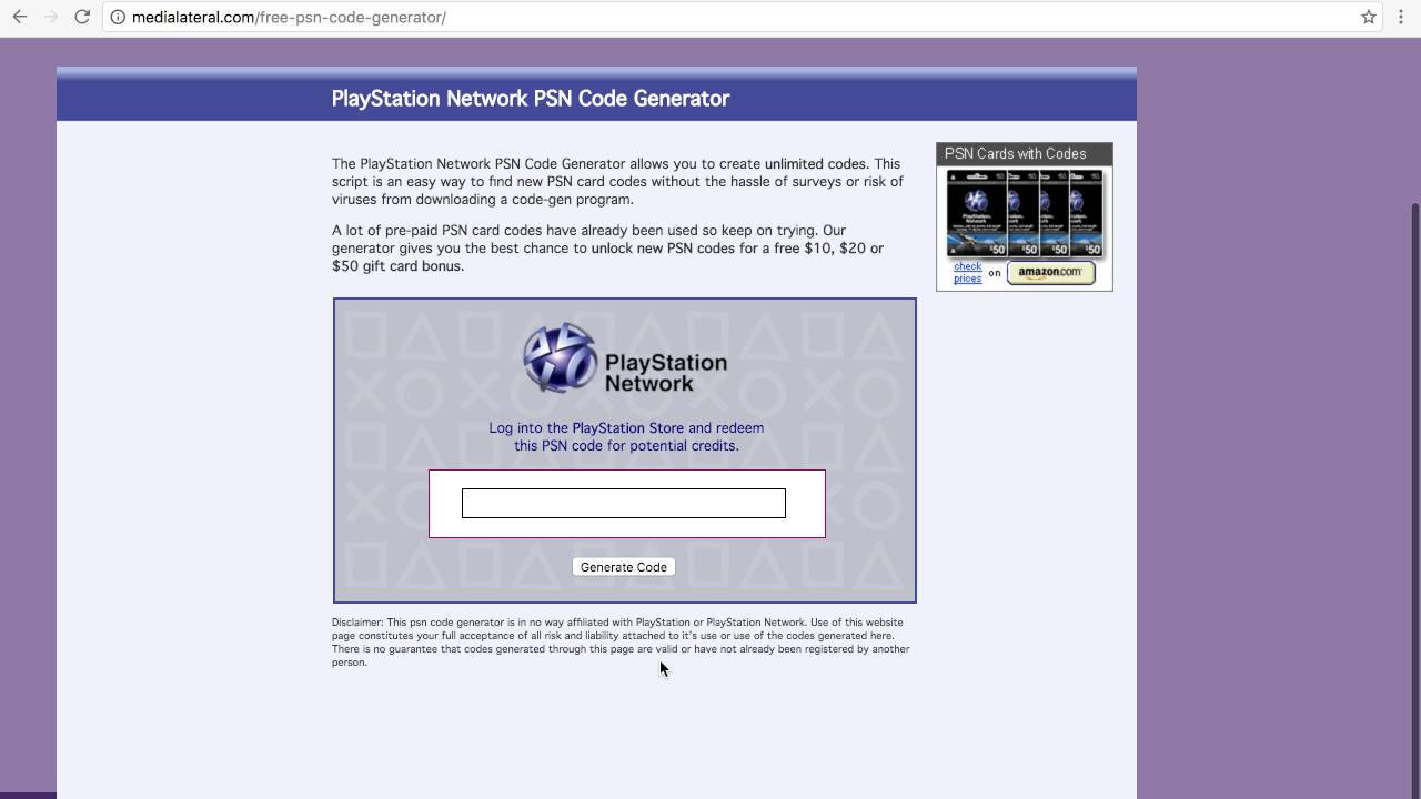 HOW TO GET FREE PSN CODES 100% (Working September 2016)