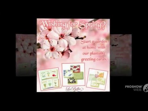 Plantable greeting cards for all seasonsladylois youtube plantable greeting cards for all seasonsladylois m4hsunfo