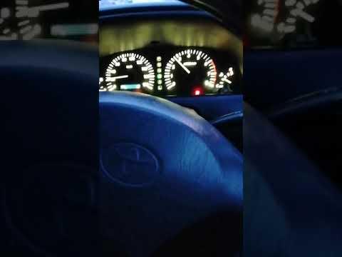 Поиск причины большого расхода топлива на Toyota Carina 2001