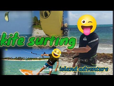 KITESURFING || FISHING || ISLAND ADVENTURES IN CARIBBEAN