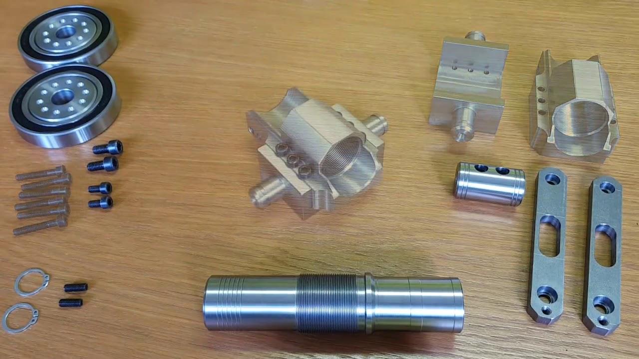 SIX Barrel !!! Powerful Mini Cannon  9mm Caliber  Most Powerful mini