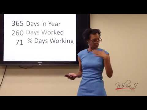 Wilma Jones -Is Living Happier at Work a Skill to Develop?-