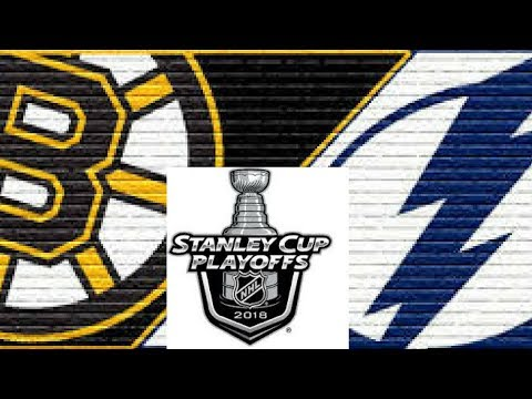 2018 NHL Playoffs Semi Finals: Boston Bruins @ Tampa Bay Lightning Game 1 Post Game