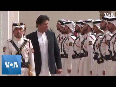 Pakistan PM Imran Khan Visits Qatar as Taliban, US Open New Round of Peace Talks
