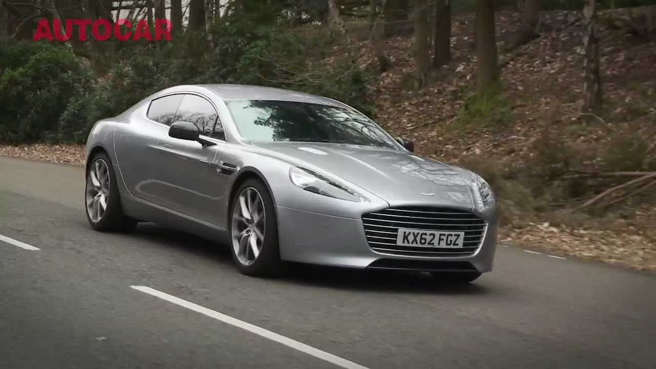 New Aston Martin Rapide S Flat Out Review By Autocar Co Uk Youtube