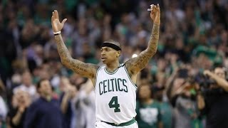 Isaiah Thomas Playoff Career High 53 Points! Overtime! Wizards Celtics Game 2