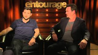 Entourage: Kevin Dillion & Jerry Ferrara Exclusive Interview
