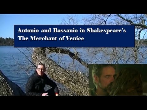 Explore the relationship between Antonio and Bassanio in The Merchant of Venice