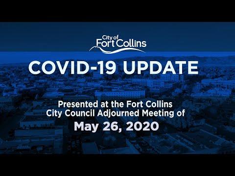 view COVID-19 Update - 5/26/2- video