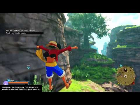 ONE PIECE WORLD SEEKER - Ancient Texts and Dyna Stones Quest (Hard Difficulty) |