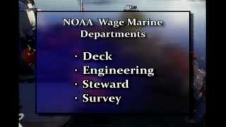 Wage Mariners: The Backbone of the NOAA Fleet:  Survey Department Version