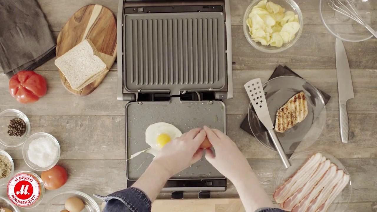 Стейки на гриле с соусом барбекю от Tefal - YouTube