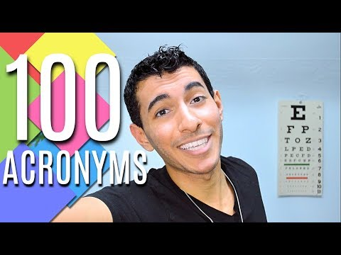 TOP 100 MEDICAL ACRONYMS! 😜💯in 100 SECONDS! | Doctor Disney