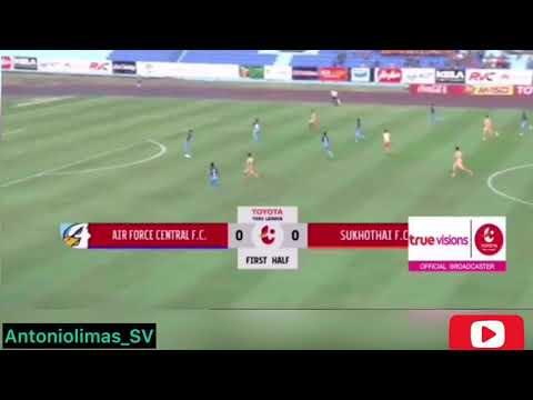 Nelson Bonilla sus 5 primeros Goles con el Sukhothai FC (De Tailandia)