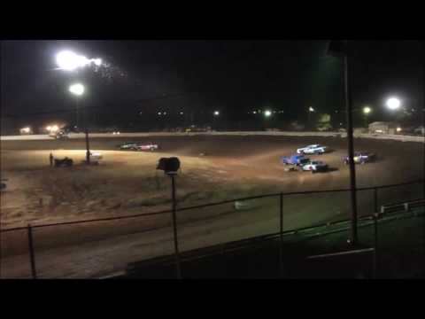 Abilene Speedway IMCA Stock Car Feature 08/13/16